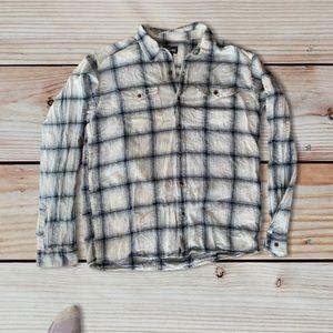 Patagonia organic cotton Plaid shirt